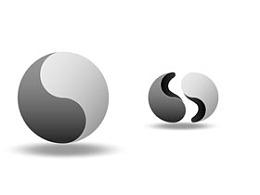 2,圆环,拼接,拼图,八卦,中国元素,中国风,动画,立体