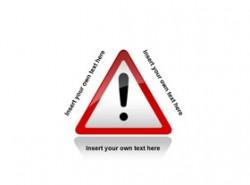 !,感叹号,提示,提醒,事故,危险