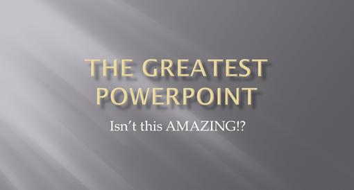 十招让你的Powerpoint脱胎换骨(上)