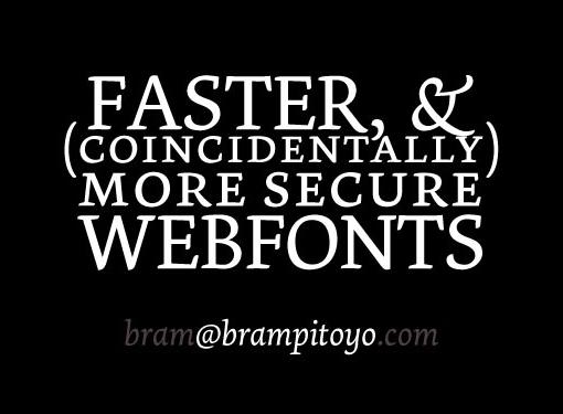 寻找合适的字体