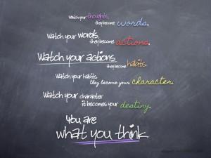 有趣的黑板粉笔字模拟效果