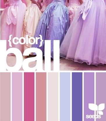 PPT配色之紫色魅影