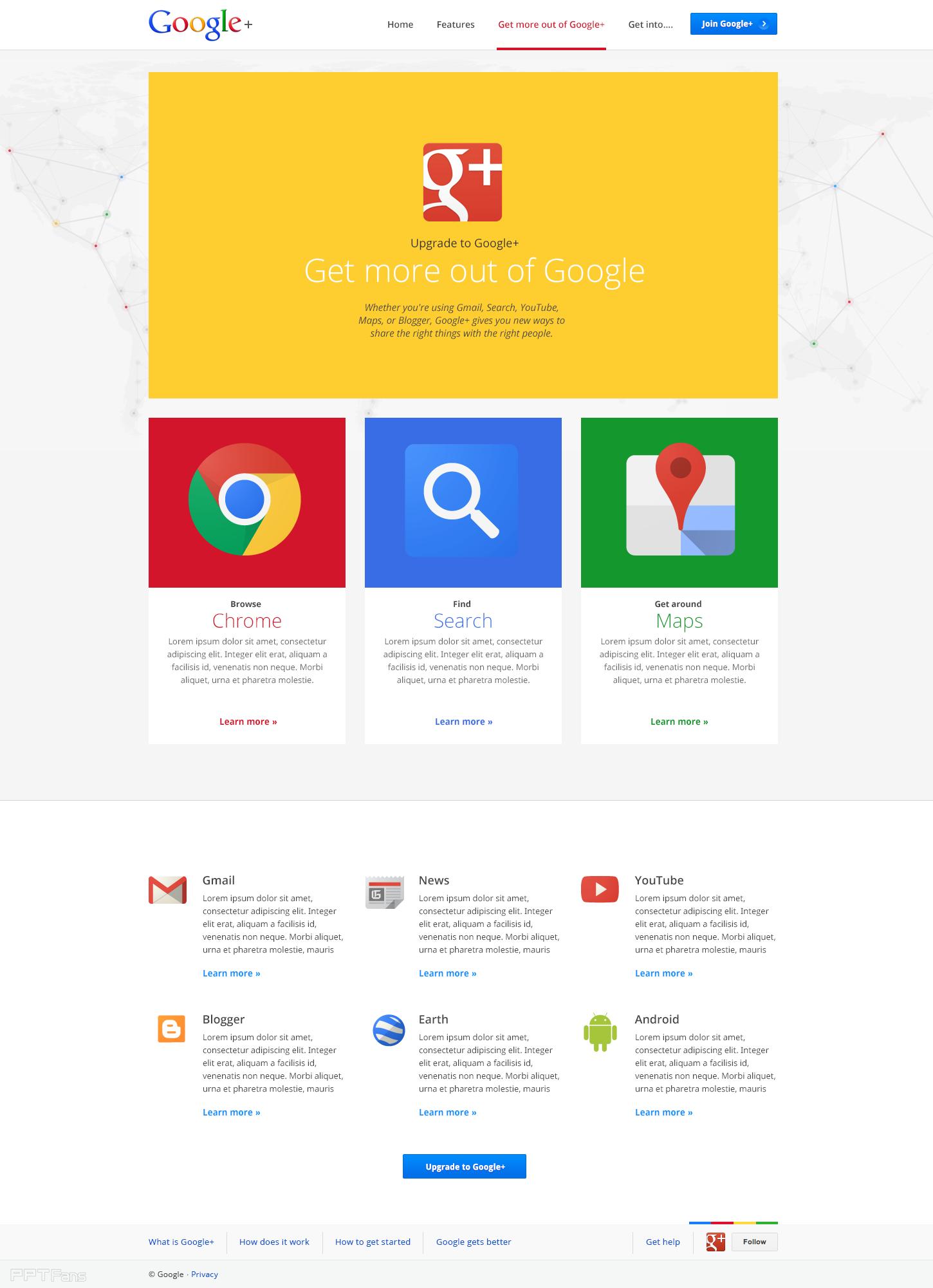 google颜色,版式设计灵感