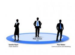 商务,团队,剪影,人物,领带,实力