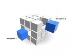 立方体,魔方,抽出,重点,空间,立体