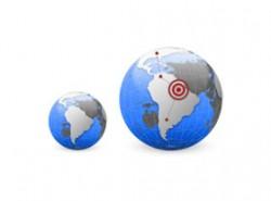 地图,目标,坐标,地球,非洲,定位系统,全球,各地