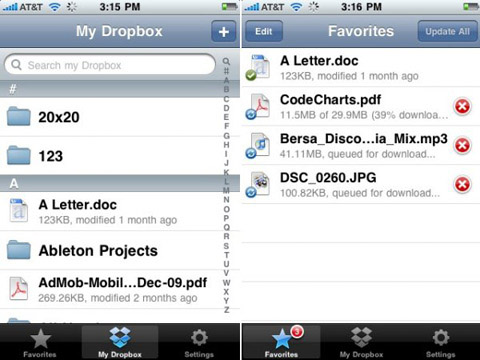 dropbox 30 Useful iPad Apps for Business & Presentation