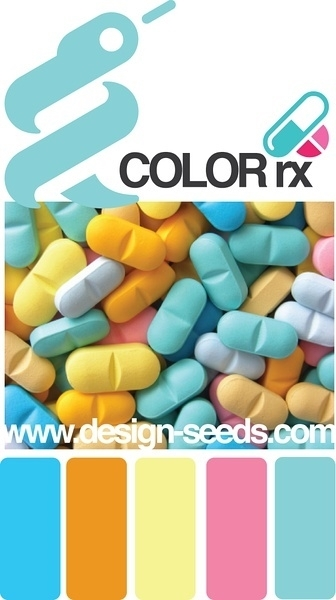 PPT配色之药丸色彩