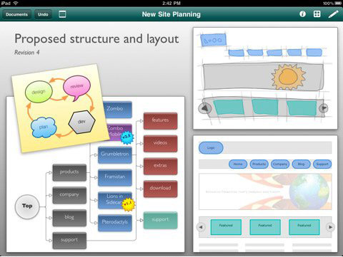 omniGraffle 01 30 Useful iPad Apps for Business & Presentation