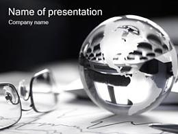 眼镜,水晶球,世界,地图,黑白,阅读,洞察