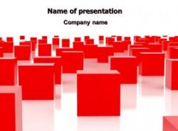 立方体,红色,密集,分布,互联,建筑,科技,创新,未来,科幻