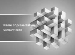 立方体,魔方,空间,很酷,韩国ppt模板,科技,互联网