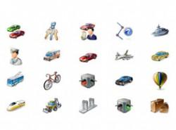 汽车,小车,钥匙,小人,美元,路线,问号,警察,救护车,飞机,出租车,有轨电车,自行车,红绿灯,交通灯,热气球,地铁,挖土机,工程车,吊桥,桥,箱子
