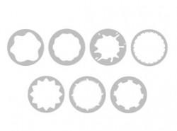 随意,创意,圆形,可爱,任意,自由,曲线,不规则,齿轮,锯齿,风车,螺旋,遮罩