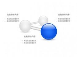 公司架构,公司介绍,公司实力,构成,团队介绍,团队力量,科技,商务,突出,结构,3,3方面,圆圈,小球,立体球形