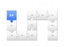 时间轴,时间顺序,时间发展,逻辑,步骤,箭头,循环,11