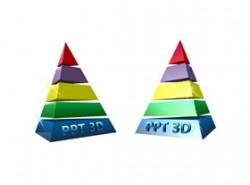 3D,图标,立体,金字塔,动画,超绚丽,重点,光,星光