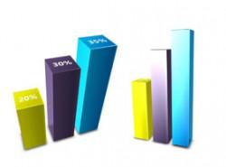 3D,图标,柱形图,数据图,数据,立体,柱子,3