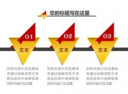 3,3部分,步骤,要点,介绍,关键,重点,立体,质感,3D,顺序,个性化图形,三角形,穿透