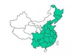 中国地图PPT素材模板下载