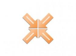 箭头,矛头,4,碰撞,摩擦,对立,对应