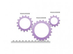 齿轮,3,链条,带动,机械,运动,流程,运转,一环扣一环,环环相扣,团队,合作