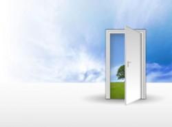 通道,随意门,心灵窗户,蓝天白云,外面的世界,天堂之路,沟通
