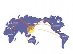 ppt地图,世界地图,矢量地图,可编辑地图,全球首都地图,各国关系,全球航线,世界物流运输
