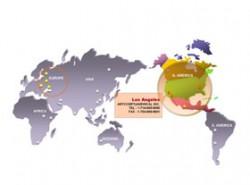 ppt地图,世界地图,矢量地图,可编辑地图,全球首都地图