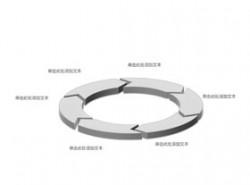 立体,3d,循环,流程,逻辑,阶段,首尾相连,循环利用,箭头,核心,6