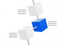 立体,3d,正方体,突出,要点,3,互联,链接,连接,管道,穿透,穿过,渠道