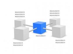 立体,3d,正方体,突出,要点,4,互联,链接,连接,管道,穿透,穿过,渠道