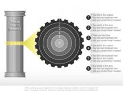 立体,3D,环节,链条,齿轮,箭头,逻辑,方向,罗马柱子,靶心,6