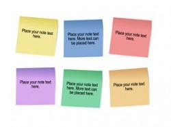 随意,创意,贴纸,撕纸,便利贴,贴纸,粘贴,便条纸