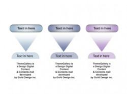 数据,3D,立体,金属感,工业感,3步骤,3阶段,3要点,箭头