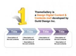 数据,3D,立体,金属感,工业感,4步骤,4阶段,4要点,no.1,1,箭头,递进,时间顺序,事情发展顺序