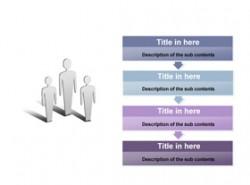 数据,3D,立体,金属感,工业感,4步骤,4阶段,4要点,箭头,递进,时间顺序,事情发展顺序,小人