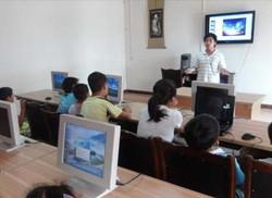 塔水镇:农村孩子教起了电脑PPT
