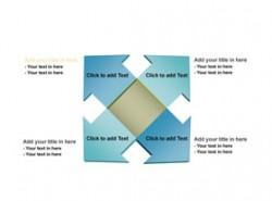 3D,立体,箭头,方块,方向,4,4部分,东南西北