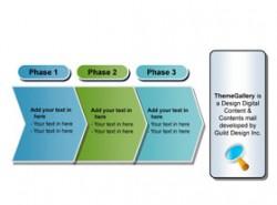 3D,立体,3,3部分,箭头,质感,水晶,按钮,顺序,步骤,阶段,成长,搜索