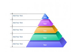 3D,水晶,立体,5部分,金字塔,进阶,时间发展,时间轴,阶级,阶梯