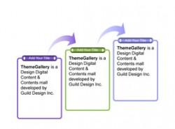 3D,立体,质感,时间轴,时间发展,公司发展,公司历史,箭头,递进