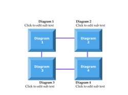 3D,立体,4部分,步骤,4要点,顺序,按钮,水晶