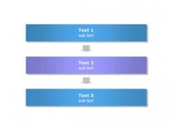 3D,立体,3部分,步骤,3要点,顺序,按钮,水晶,时间发展,箭头