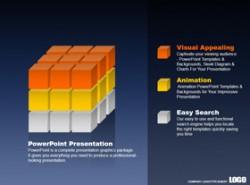商务,3D,立体,方块,正方形,团队,组成部分,组织,实力,企业优势,坚固