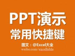 三分钟教程(10):PPT演示中最好用的快捷键