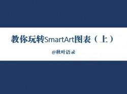 三分钟教程(65):SmartArt图表使用指南(上)