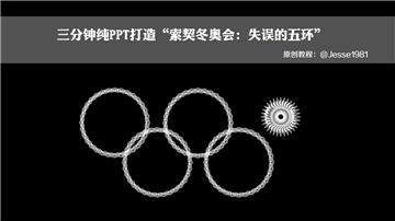 三分钟教程(132)索契冬奥会:失误的五环