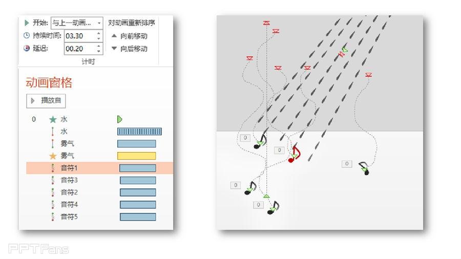 PPT动画大师之路(09):雾影魅歌