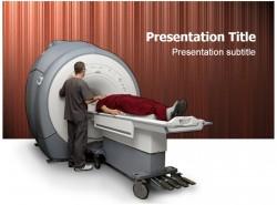 医学医药行业MRI磁共振成像检查PPT模板